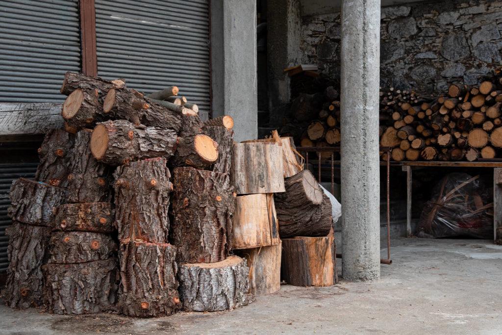 Come conservare la legna in modo ottimale?